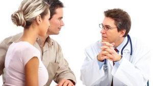 Супруги у врача