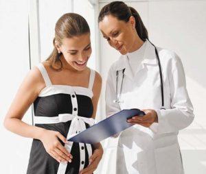 Рекомендация врача беременной женщине