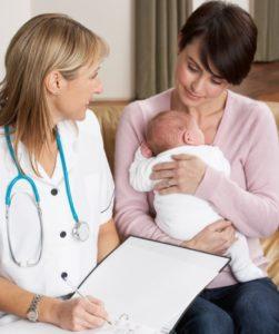 Мама и врач