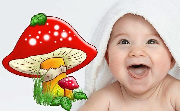 Кандидоз у младенца