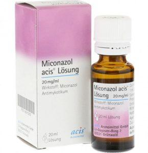 Миконазол раствор