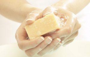 Хозяйственное мыло от молочницы