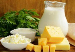 Питание при молочнице