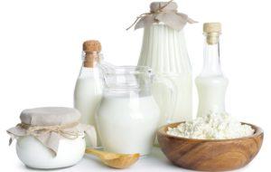 Молочние продукты при молочнице