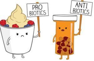 Пробтотики против антибиотиков