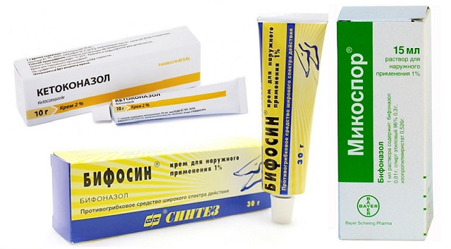 Препараты для лечения кандидоза кожи