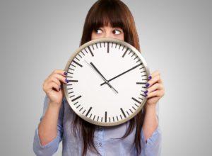 Девушка и время
