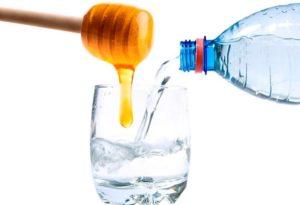Мед с водой