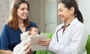 Консультация врача для новорожденного